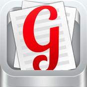 Glyphic Word Processor for iPad