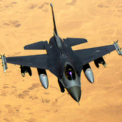 Air Combat - Strike Enemey Jet Fighters to Secure Desert and Win the War
