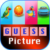 Guess Picture Words Scramble : One Pic 1 word Kids Games with friends