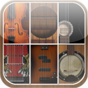Ultimate String Instruments Free (Bass Guitar, Ukelele, Violin, Banjo, Black Guitar, 12 String Guitar) guitar fingering