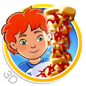 Sneak a Snack HD Lite - 3D interactive children's story book with fun factor!