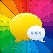 A+ Color Message Free - Pimp Hot Colorful Bubble Mail Messenger