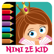 Color Princess 2 - Coloring Exercises for Kids