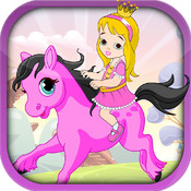 Pretty Pony Princess Ride - A Running Horse Adventure
