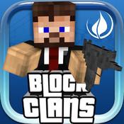 Block Clans - Pixel World Gun in 3D Block Style Survival PE (Pocket Edition) Game h r block mobile