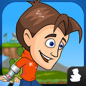 Kuzua The Iron Kid - A Free Endless Runner Game. Best Running Game for Kids game cd