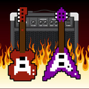 Tiny Angry Electric Guitar! Game - Guitar Tap Mania Games guitar fingering