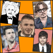 The People Icon Quiz 3 - Men Special,Free Trivia quiz about celebrity,Sports,celebs,actor,Icon,Pop,Rock,Star,Celeb Mania with pics no cheat friends