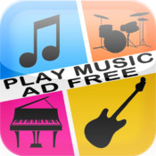 PlayMusic - Piano, Guitar & Drums Ad Free