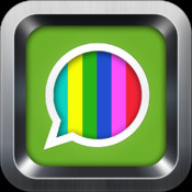 Color Text Messages with Scrolling, GIF, Animation, Emoji, Emoticons for iMessage, SMS, Tumblr, Whats, Email, app scrolling text ticker