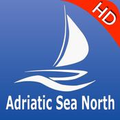 Adriatic Sea North GPS Nautical charts