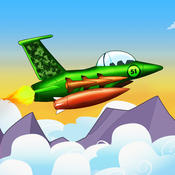 Jet Fighter Battle Bomber - great air plane shooter game