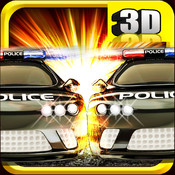 A Cop Chase Car Racing 3D FREE - Multiplayer Edition