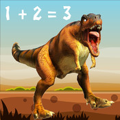 Dino Math - Boost Your Brain Power with T. Rex Dinosaur Math Might