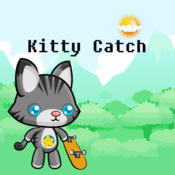 Kitty catch Stay On Screen And Collect Coins