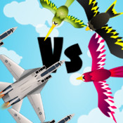 Angry Planes Vs Idiot Birds - Battle For The Skies Free Air Racing Game