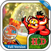 Christmas Magic - Free Search & find concealed and hidden objects in the magic of X`mas magic search words
