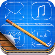 Creative themes – wallpapers, backgrounds, screen savers for iPhone and iPod touch. touch screen keyboard