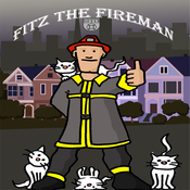 Fitz The Fireman Who Saves Cats