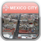 Map Mexico City, Mexico: City Navigator Maps city*