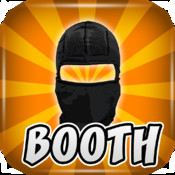 Ninja Photo Booth HD Studio FREE - Cool Games foto Sticker Booth