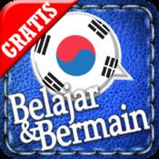 Belajar&Bermain Korea GRATIS ~ lebih mudah & menyenangkan. Dengan metode permainan yang efektif, lebih baik dibandingkan menggunakan flashcard.