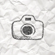 Paper Cam+ Photo Video Camera with paper effect filter paper art