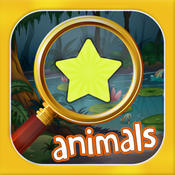Amazing Animal Hidden Objects - A Free Hidden Object Mystery Game! Find the Objects & Solve Puzzle