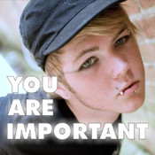 You Are Important - Depression, Suicide, & Bullying Prevention Videos App by Wonderiffic®