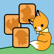 Brain Cards Training For Little Fox Version pairs