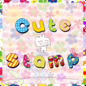Cute!Free Emoticon/Emoji/Sticker emoticon messenger sticker