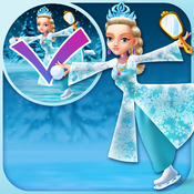 My Ice Skating Snow Princesses Draw And Copy Game - Free App 5star game copy 1 5