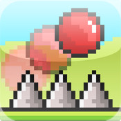 Go Go Pixel Red Ball