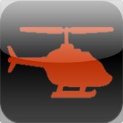 Helicopter In Red Zone