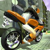 Aaa City Rider 3D Hi-Speed Motorcycle Racing : Ride with speed! racing speed