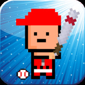A Tiny Baseball Player - Free 8-Bit Retro Pixel Baseball