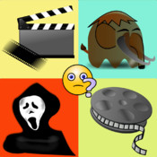 Movie Pic Quiz - What`s the Emoji Movie Word - A Movie Trivia Game movie making digital overlay