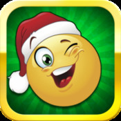 Christmas Emoji - Easy to use Emoticon Adjuster Photoshop style! Yr artsy image editor to share with friends on Facebook and Twitter by Top Kingdom Games emoticon facebook translator