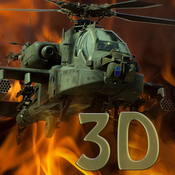 Apache War 3D- A Helicopter Action Warfare VS Infinite Sky Hunter Gunships and Fighter Jets ( arcade version ) apache hills insane