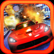 Street Racer Police Dodge - A high speed city chase