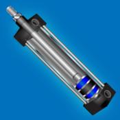 Pneumatic Cylinder Calculator cylinder and slide