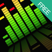 Audio Meter FREE - LED visualizer for music library or microphone audio audio