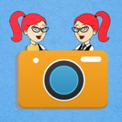 Twin Camera ! split pic clone yourself