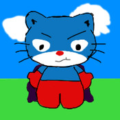 Flappy Captain Cat captain barbell