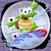 Turtle Sewer Surfers