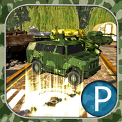 3D Parking and driving in Army training camp soldier simulator mission wargame training simulator pocketaed