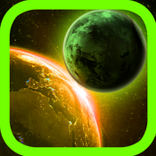 Running Planet - Free space exploration and the planet devouring game planet