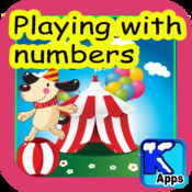 Playing with numbers. Learn the dozens, even and odd numbers, where they stand on a number line and many more for children between 4 and 7 years old. point numbers