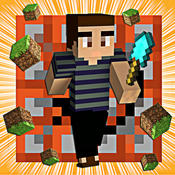 Minecraft Pocket Edition - Multiplayer For Minecraft And Mine Mini Game With Skin Exporter (PC Edition) And Seeds Pro Cube Adventure World