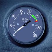 Engine RPM xclock rpm